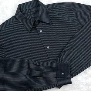 Express Modern Fit Pinstripe dress shirt